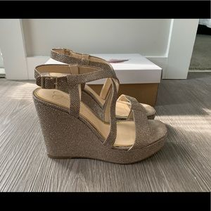 Jessica Simpson Formal Wedges Size 8.5
